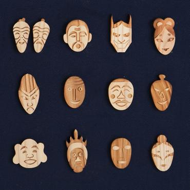 つけているだけでご利益がありそう! ありとあらゆる神様が大集合した「日本の神々シリーズ ピンバッジ」発売