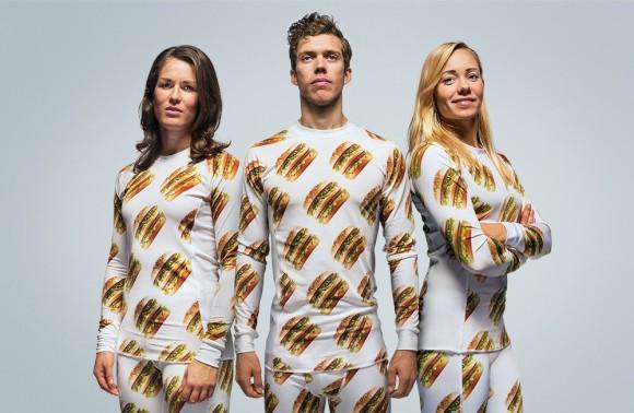 ちょっと欲しい…!! スウェーデンのマクドナルドがビッグマック柄の寝具や洋服や壁紙を発売!