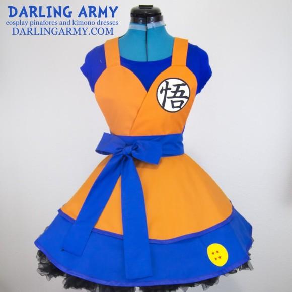 海外ネットショップで孫悟空やピカチュウ、セーラームーンなど日本の人気キャラをモチーフにしたコスプレドレスを見つけたよー!