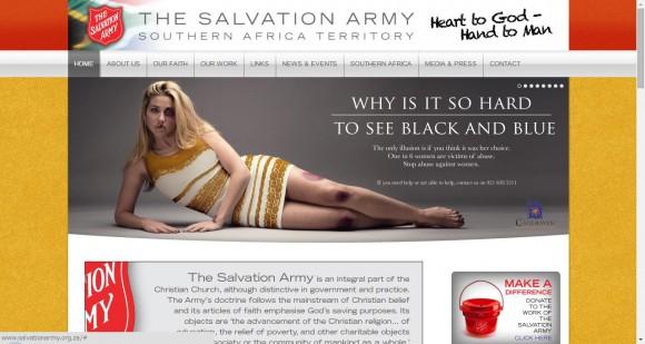 「白×金」or「青×黒」? ネットで話題となったあのドレスがDV防止を訴えかけるキャンペーンビジュアルに