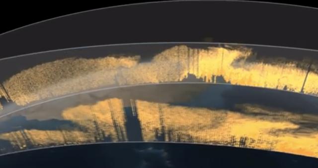 【地球の神秘】アマゾンの密林を救うサハラ砂漠/サハラ砂漠からアマゾンへ運ばれる砂埃の3D画像