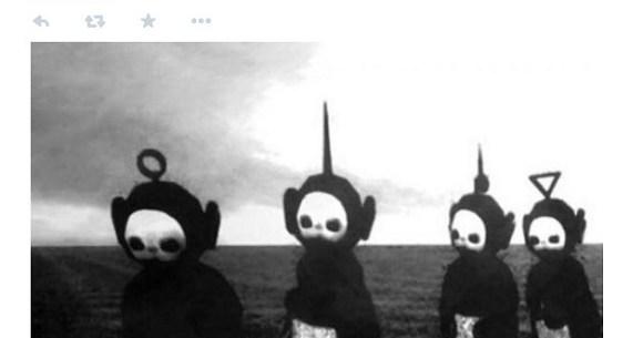 怖い テレタビーズ