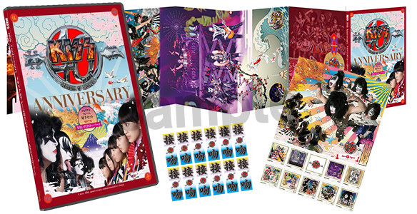 KISSがデビュー40周年を記念して切手に! ももいろクローバーZとのコラボバージョンも