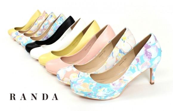 足のサイズでお悩みの女子に朗報! レディースシューズブランド「RANDA」が26.5cmまでのサイズ展開をスタートしたよーっ!!