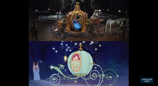 """ディズニーが映画「シンデレラ」の実写版&アニメ版比較映像を公開! 圧巻の再現度に加えてその """"違い"""" にもご注目"""