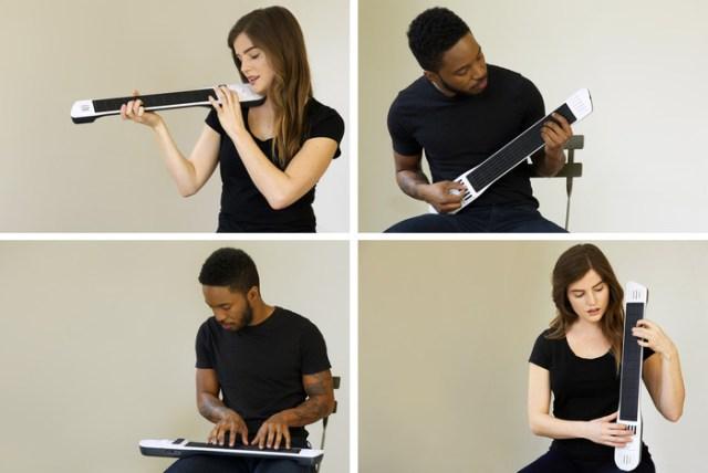 ギター・ドラム・ピアノ・バイオリン……さまざまな楽器を1台でシミュレートできる夢のようなデジタル楽器!