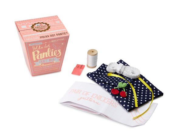 手作り好きさん必見!! ありそでなかった「手作りパンツ・キット」がオモシロ可愛いんです!