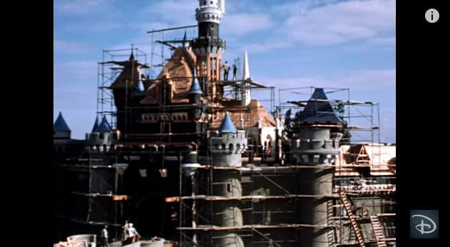 【建設タイムラプス】世界初のディズニーランドができるまで