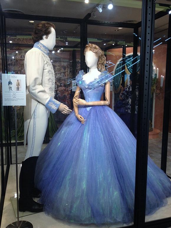 シンデレラと王子衣装