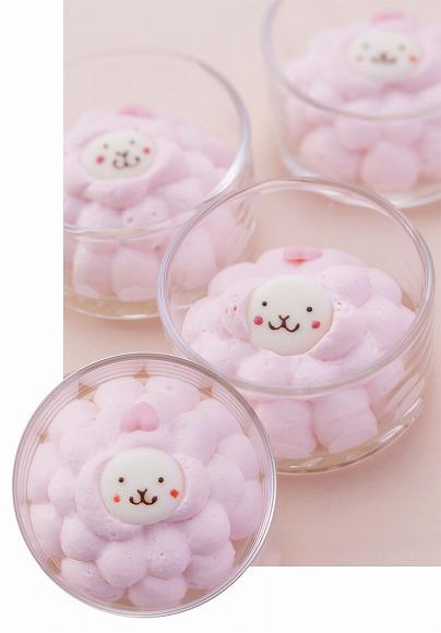 【大阪限定】ピンク色のホイップクリーム&ハートのしっぽ♪ めちゃカワな「ヒツジのプリン」が食べ放題なり