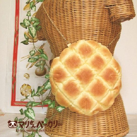 メロンパンや食パンのポシェット!? いい香りが漂ってきそうな「焼き立てパン雑貨」にかぶりつきたい♪