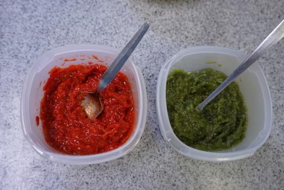 塩レモンに続く、赤い万能調味料! 旬のパプリカを使った『マッサ』を仕込んでみた! 緑のピーマンでも作ってみたよ!!