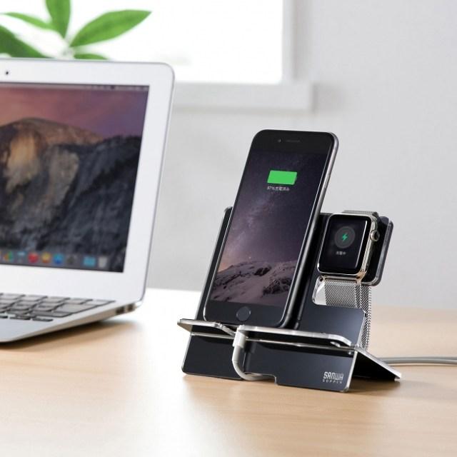 Appleファンはマストバイ! Apple WatchとiPhoneを一緒に充電できちゃうスタンドが登場