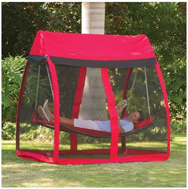 これで「デング熱」も怖くない!? ゆったり広々仕様が嬉しい「蚊帳付き」ハンモックを発見したよ