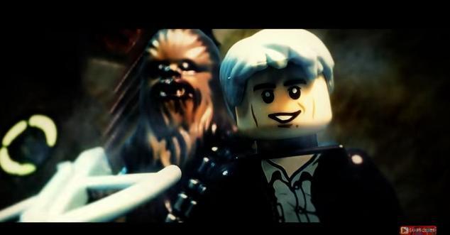 LEGO&16ビット化したキャラクターたちにわくわく! 新作映画「スター・ウォーズエピソード7/フォースの覚醒」特報映像のパロディーが早くも登場