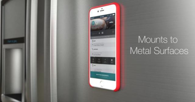 iPhoneを冷蔵庫や車内にピタッと装着できちゃう! 1つ持っていたら確実に重宝しそうなアイテム「マグバック」