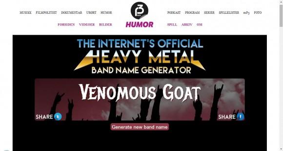 【遊び倒そう】ワンクリックでジャンジャン出てくるゼ! メタル・バンドの名前を提案してくれるサイトがめっちゃジワる!!