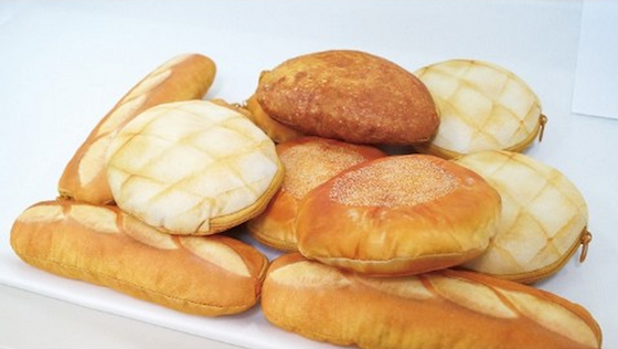 おいしそ〜ッ! 焼き立てパンみたいなポーチ/メロンパンにフランスパンなど4種類