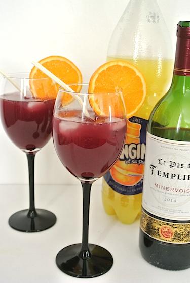 【女子力UPレシピ】材料2つ! オランジーナと赤ワインを混ぜて作る「サングリア」が超ウマいッ