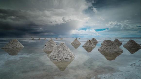 行ってみた~い!ボリビア・ウユニ塩湖の絶景をとらえたタイムラプス動画