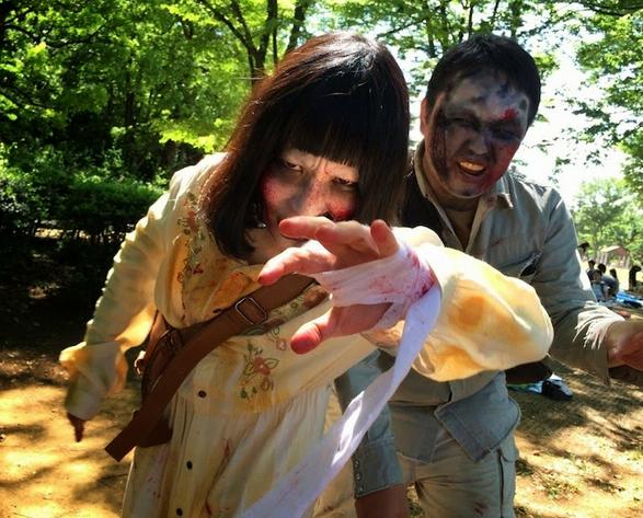 【5月16日開催】ゾンビになりきって歩こう♪ 「代々木公園ゾンビウォーキング」が今年も開催されるよ〜!!