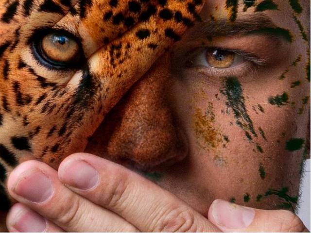 ひきこまれるぅぅぅ……! 動物と人間の顔を融合したポートレイトシリーズ「Faces Of The Wild」