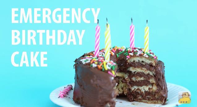 この手があったか! 「な~んにも用意してない」緊急事態に役立つバースデーケーキレシピをご紹介♪