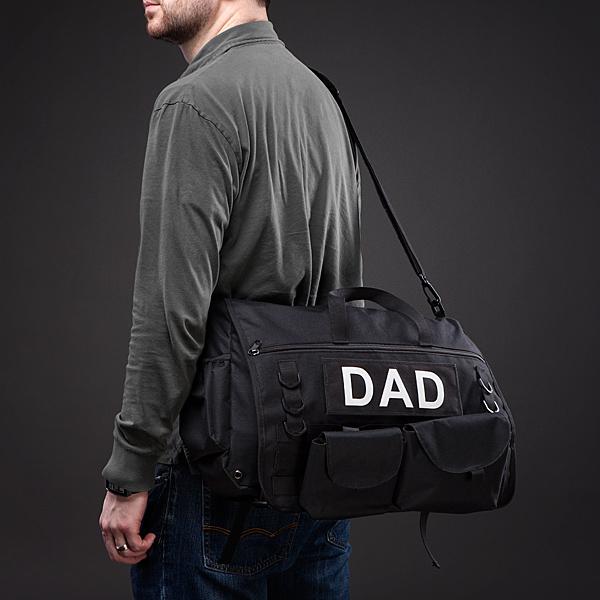 【パパ用】メッセンジャーバッグみたいでオシャレ! 大容量赤ちゃんバッグが心強すぎる