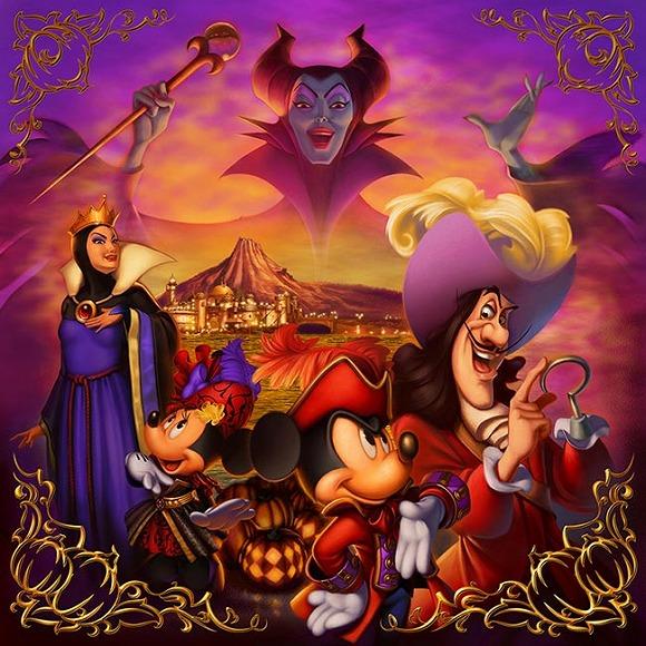 【東京ディズニーシー】今年のハロウィンは「ヴィランズ」一色のクールで妖しい世界に!!