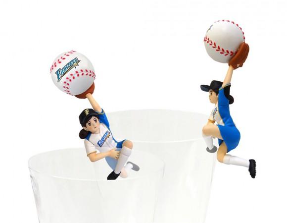 コップのフチから「プロ野球」を応援♪ 「コップのフチ子 野球」シリーズ第3弾・全5球団が6月13日から順次発売されるって!