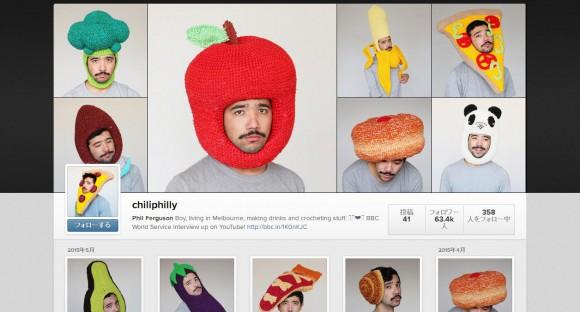 ユーモラスな帽子を制作する男性を発見! 表情とのギャップにもご注目