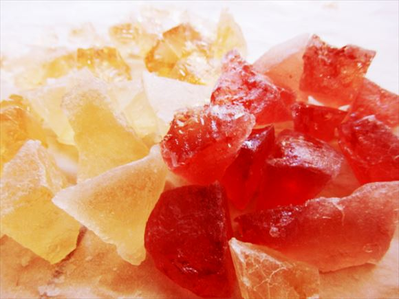 ネットで話題の「食べられる石」を作ってみた! / 1回作れば3度おいしい神お菓子だった!!