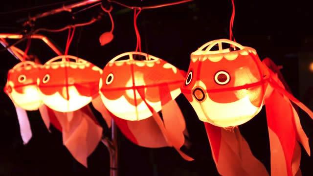 """金魚の """"ちょうちん"""" がかわええ! 夜の隅田川クルーズを楽しめる「納涼金魚ちょうちん船」"""