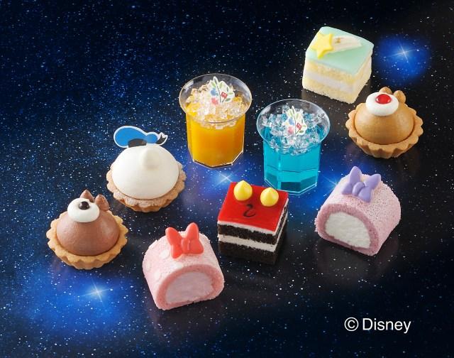 七夕祭りのデザートはこれっ!! ディズニーキャラをデザインしたプチケーキセット「七夕」バージョンが発売〜☆