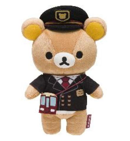 キャー♪ 阪急電車とリラックマのコラボ第2弾が始まるよ! 駅長の制服を着た「駅長リラックマ」が猛烈キュート