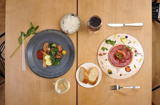 【おしゃれ】和食の定番「干物」がディナー向けフランス料理「ペッシェール」になっちゃった!!