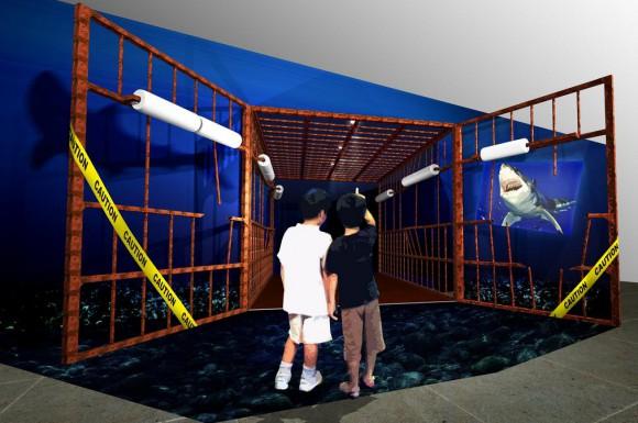 """海の最強ハンター """"サメ"""" の捕食行動を楽しく学ぼう♪ 大阪・海遊館で特別展示開催"""