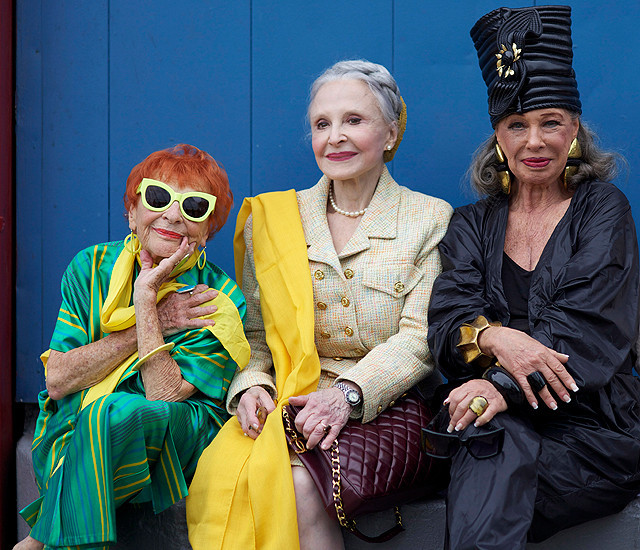 話題の映画『アドバンスト・スタイル そのファッションが、人生』誕生は、プロデューサーの祖母のひと言から始まった!【最新シネマ批評】