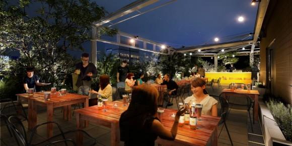 【6月22日予約開始】タイビールの代表「シンハービール」にピッタリのタイ料理を堪能! 辛くて美味しいビアガーデンが銀座にオープン
