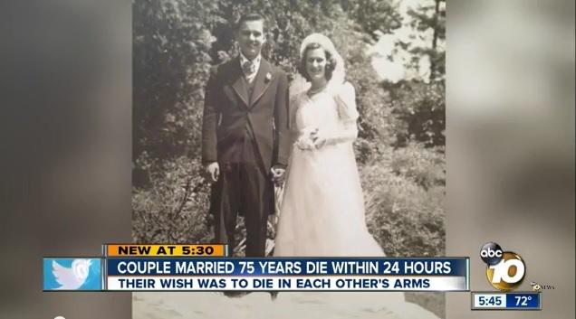 【奇跡の愛】最期は抱き合って一緒に旅立とうね…長年の願いどおりに最高の最期を迎えた老夫婦が世界中の涙を誘っています