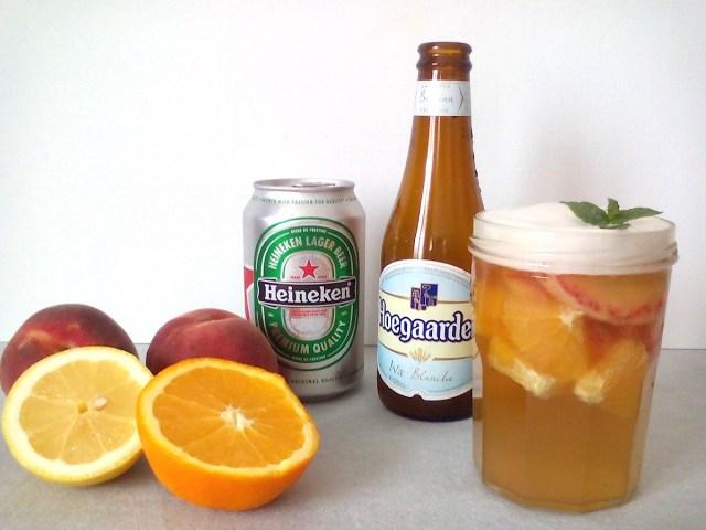 【夏のドリンク】爽やか「フルーツビール」 を作りたい! ビールにいろんなフルーツを漬けてみたよ!
