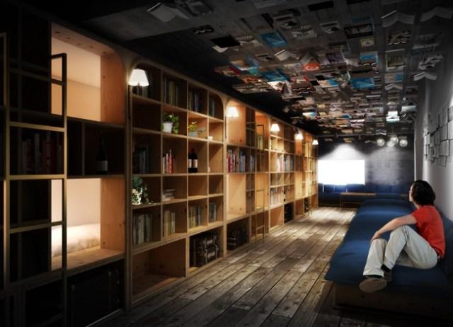 コンセプトは「泊まれる本屋さん」! 本好きにはたまらないミニホテル「BOOK AND BED TOKYO」が池袋にオープン!!