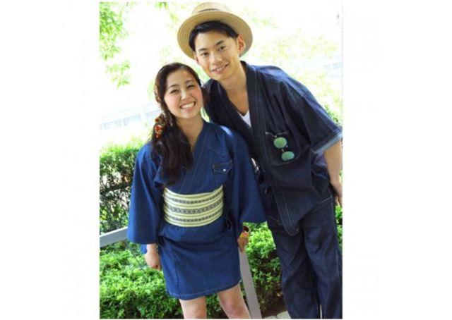 彼とおそろで着たい♪ 塚田農場×Leeの「デニムミニゆかた&デニムサムエ」が一般発売されたよーっ!!