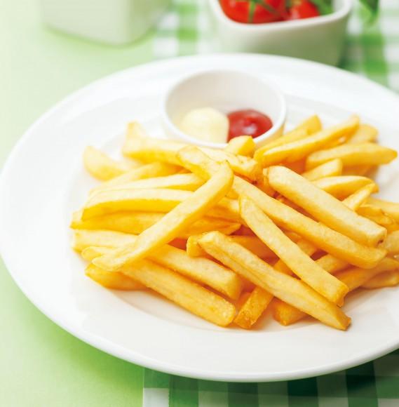 ポテトパーティーが始まるよ〜! マックのLサイズより大容量、ガスト「山盛りポテトフライ」が99円ですって!!
