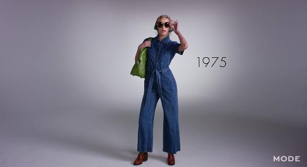 100年間で女たちは男らしくなった!? レディースファッションの歴史を2分半で振り返る動画が楽しい!