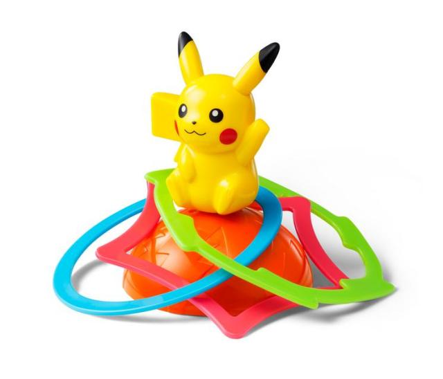 夏のマクドナルドハッピーセットは『ポケモン』!「 ピカチュウ くるくるわなげ」など全8種類のおもちゃが7月24日から登場☆