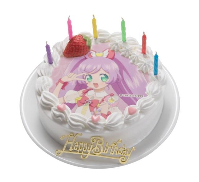 アニメ「プリパラ」1周年記念デコレーションケーキが登場! ケーキは14種類キャラは13人、さてどれ&誰にする?