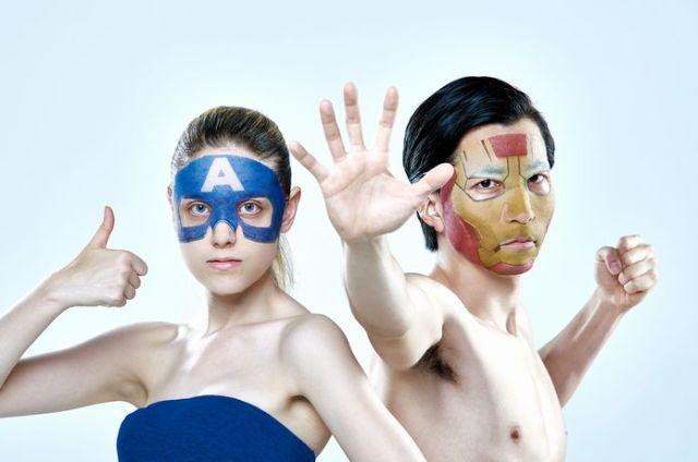 アイアンマン&キャプテンアメリカになれる!! 一心堂本舗から『アベンジャーズ』新作公開に合わせたフェイスパック登場!