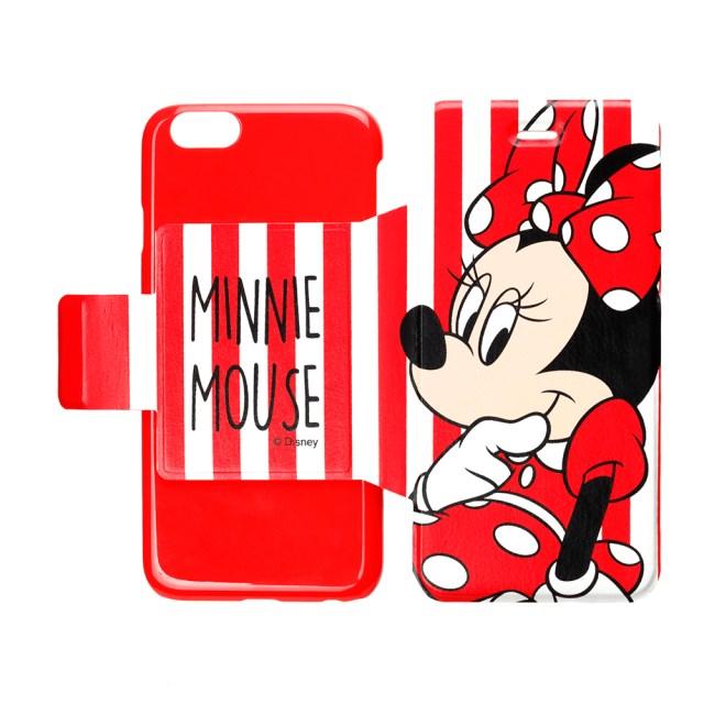 ディズニーキャラのポップなデザイン☆ 薄軽で機能性バッチリな「iPhone 6用フリップカバー」が発売されるよー!!