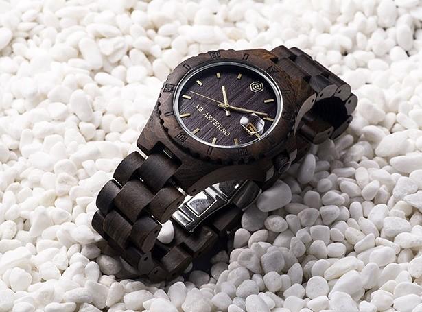 """""""木製"""" って新しすぎ! 世界で唯一のオーガニック腕時計ブランド「アバテルノ」の時計が美しすぎる!!"""